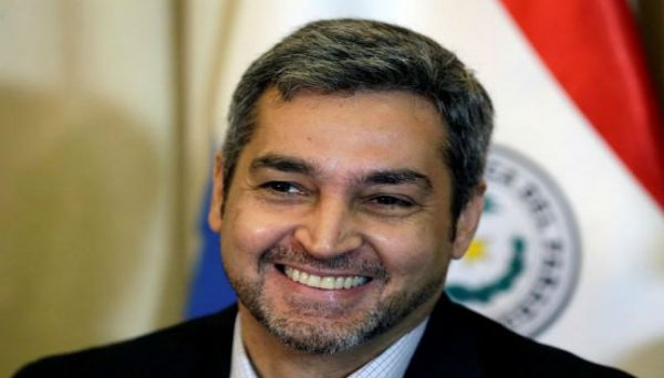 FILE PHOTO: Paraguay's new President Mario Abdo Benitez