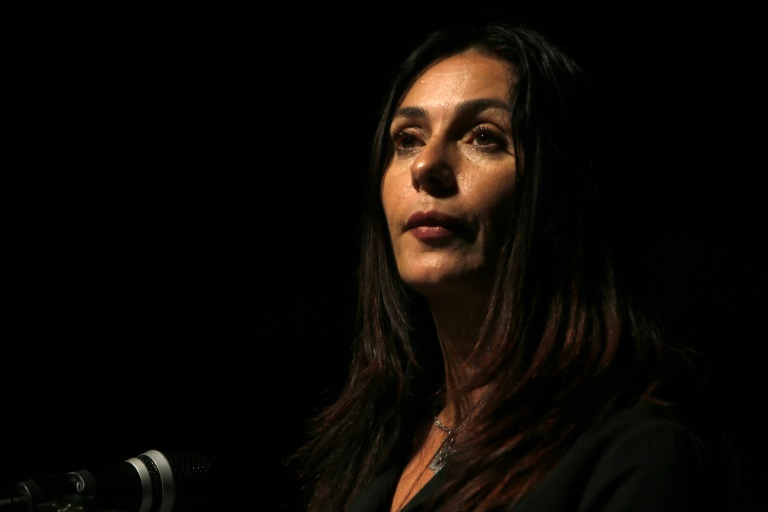 "Israeli Culture Minister Miri Regev, shown here on November 10, 2016, has welcomed the failure of her country's controversial candidate for the Oscars to win a nomination, having called the film ""Foxtrot"" an insult to the military MENAHEM KAHANA (AFP)"