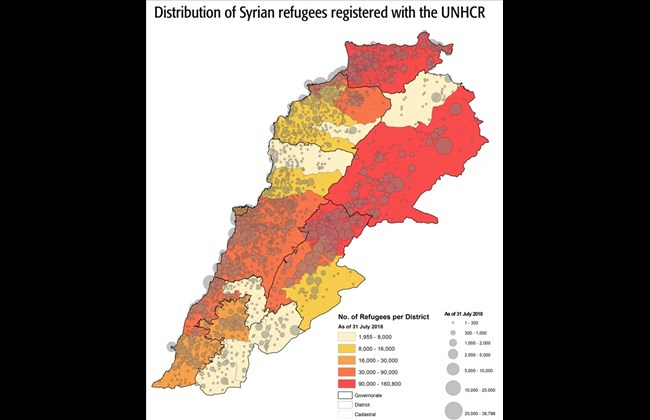 syrian refugees in Lebanon UNHCR