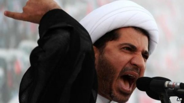 Bahrain's opposition leader, Sheikh Ali Salman