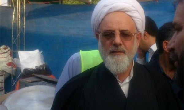 Mohammad Naqi Lotfi, former Friday prayer cleric for the town of Ilam in western Iran who was accused of corruption in Ilam, Iran, in this undated handout photo by Tasnim News Agency /Handout via REUTERS