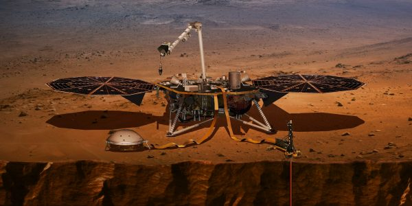NASA's $993 million (€876m) Mars InSight lander has successfully touched down on the Red Planet to listen for quakes and study how rocky planets formed, the US space agency said Monday.