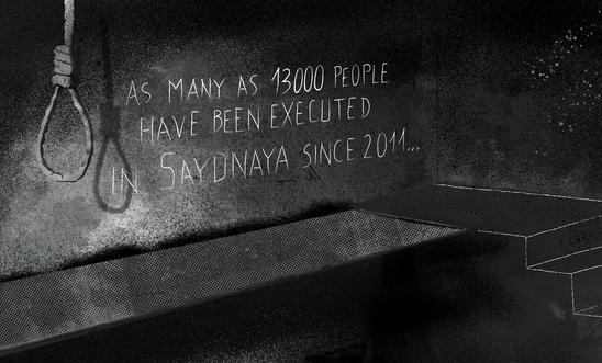 SYRIA 13000 HANGED