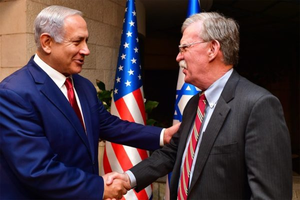 Boltn Netanyahu