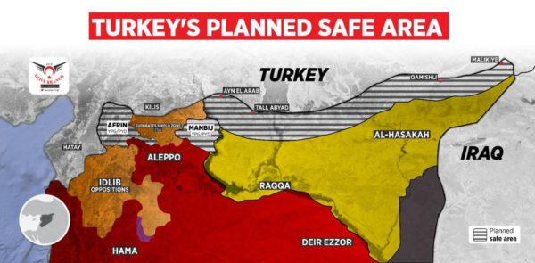 turkey safe zone in syria