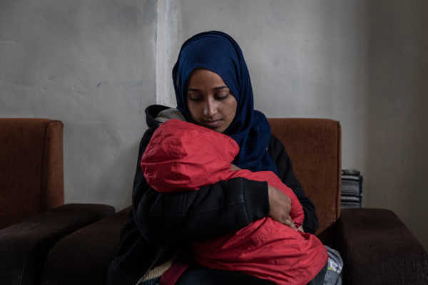 Hoda Muthana , the Alabama woman who left home to join the Islamic State group in Syria now wants to return to the U.S. with her child  ,but President Trump said Wednesday the United States would not re-admit her