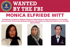 Monica Elfriede Witt wanted by FBI