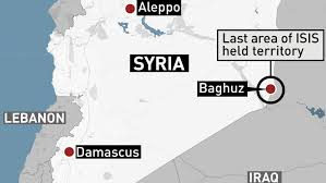 baghouz-syria map last ISIS stronghold