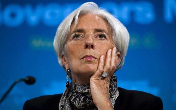 christine lagarde IMF CHIEF