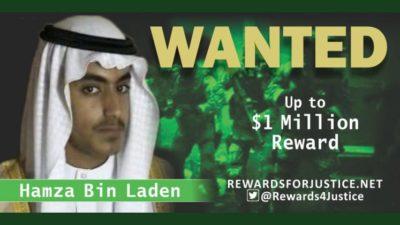 hamza bin laden reward