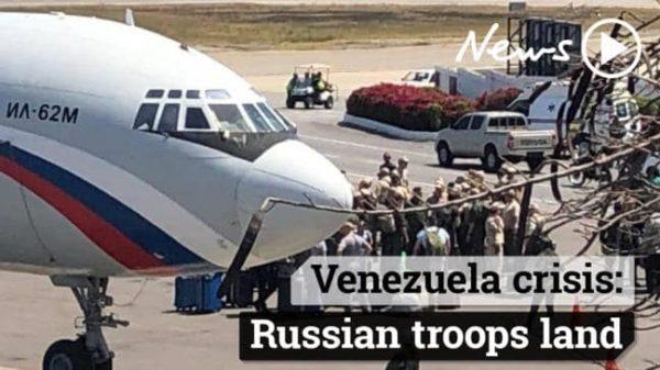 russian troops in Venezuela