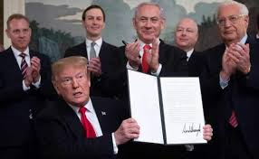 US recognition for Israeli control over the territory breaks with decades of international consensus