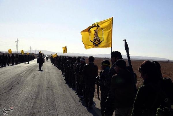 Afghan militiamen of Liwa Fatemiyoun during the Palmyra offensive (December 2016)