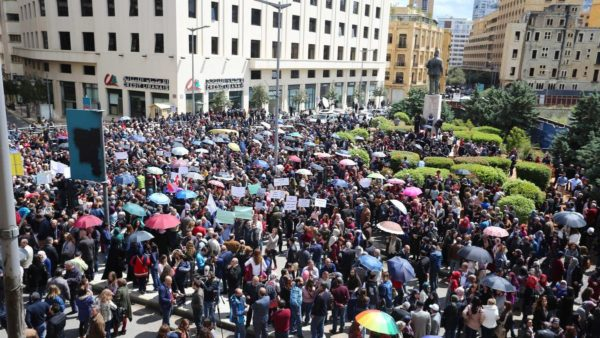 LEBANON-CIVIL-SERVANTS-PROTEST
