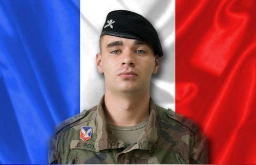 Erwan Potier, unifil soldier