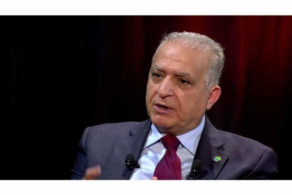 Iraq's Foreign Minister Mohammed Ali al-Hakim
