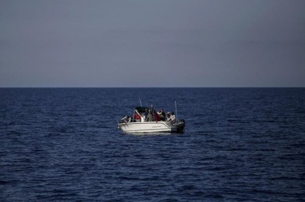 A fishing boat that was illegally carrying eight Syrian refugees to the Mediterranean island of Cyprus capsized on Monday. (File/AFP)