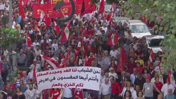 may day march lebanon