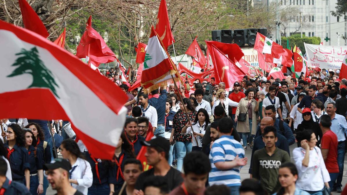 strike by public sector in Lebanon