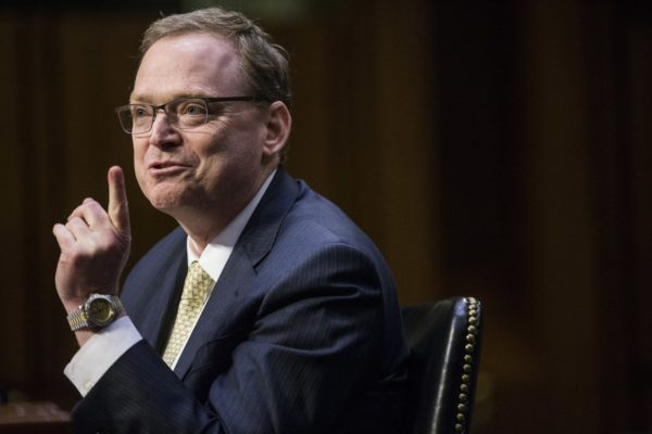 Kevin Hassett, chairman of the Council of Economic Advisers, during a hearing of the Joint Economic Committee of Congress in Washington in March 2018.