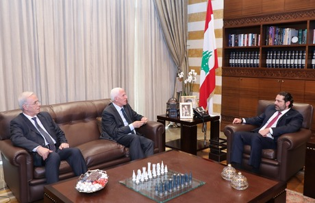hariri palestinian delegation