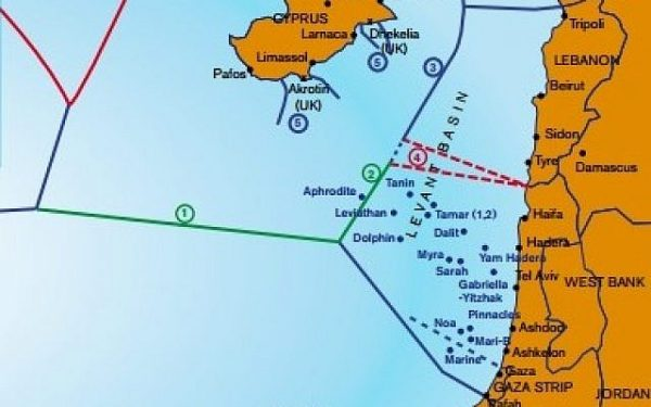 israel lebnaon maritime border