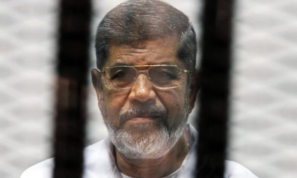 morsy dies in court