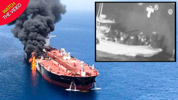 tanker attack by iran