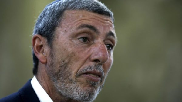 Israeli Education Minister Rafi Peretz has spoken of his belief in therapy to convert gays to heterosexuality Israeli Education Minister Rafi Peretz has spoken of his belief in therapy to convert gays to heterosexuality POOL/AFP/File