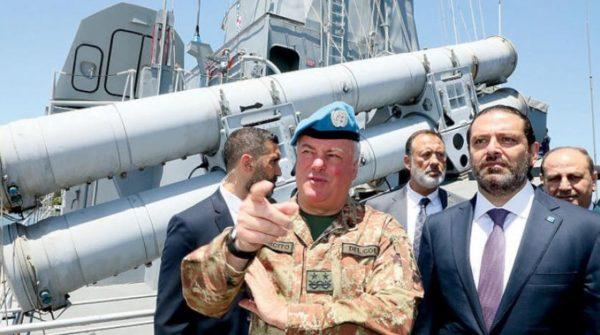 hariri Major General Stefano Del Col