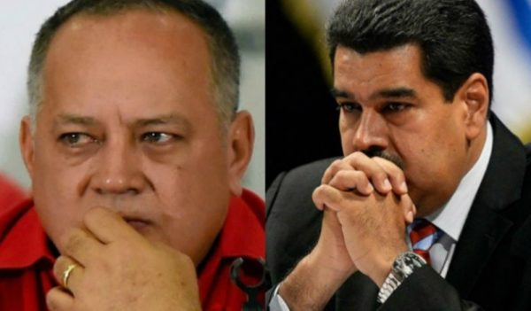 Diosdado Cabello and maduro