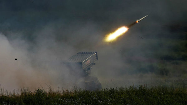 Maxim Shemetov, REUTERS | A Russian Tornado-G missile system fires during a demonstration at the Alabino range near Moscow on June 25, 2019.