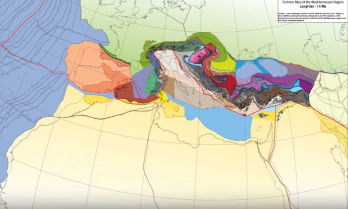 Greater Adria: Tectonic Reconstructions of Mediterranean over 240 Million Years