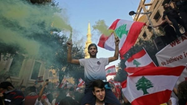 MASS PROTEST LEBANON 5TH DAY