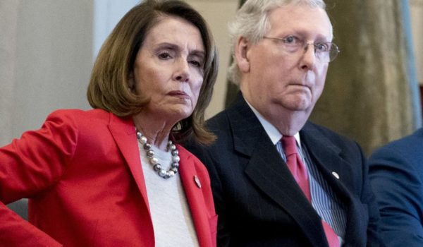 Democratic House Speaker Nancy Pelosi, Republican Senate Majority Leader Mitch McConnell  R and Senate Armed Services Committee Chairman Lindsey Graham, South Carolina Republican and a noted Trump ally on the Hill, led a slew of legislators calling on the president to rethink his decision Monday