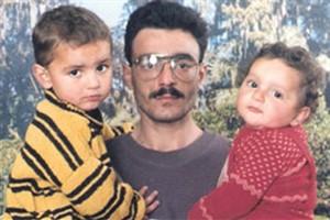 Ali Hussain Sibat w 2 kids