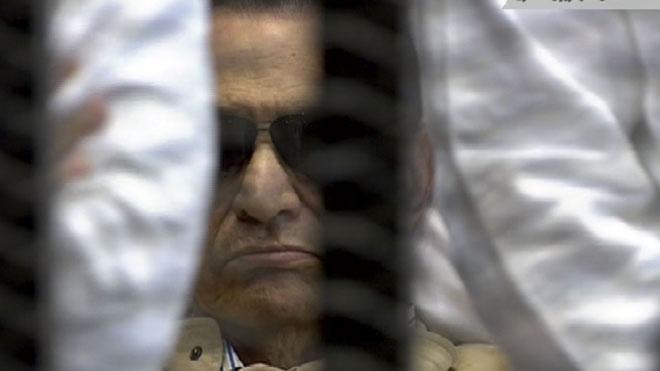 mubarak found guilty