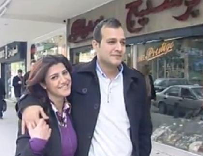 Kholoud Sukkariyah  Nidal Darwish first civil marriage