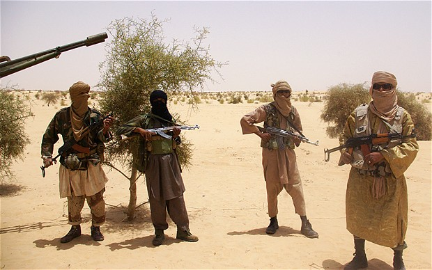 al Qaeda fighters in Africa