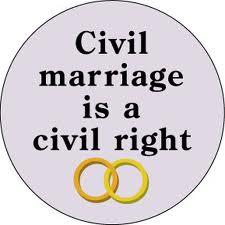 civil marriage a civil right