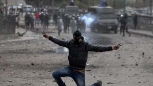 egypt protest - army chief warns the state could collapse