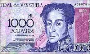 1000 venezuelan bolivars