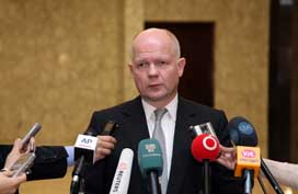 Hague British foreign minister