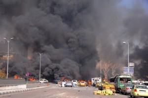 bomb attack in Damascus