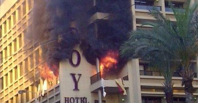 Duroy hotel -Explosion