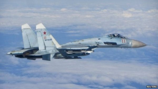 Sukhoi fighter jets russia