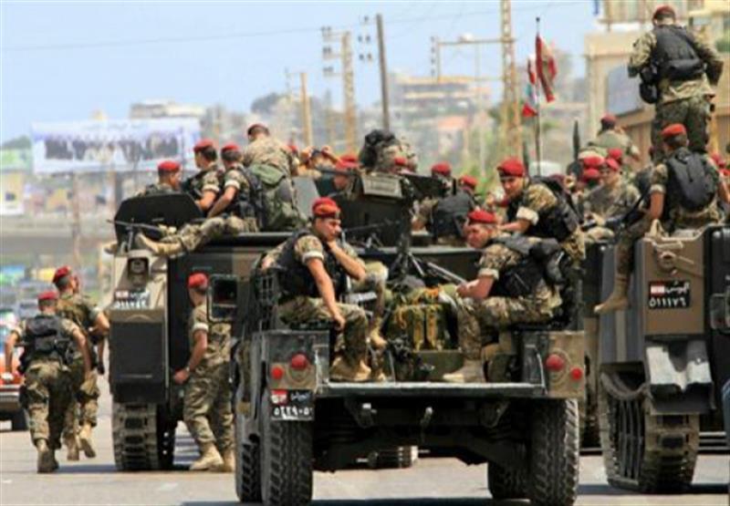 lebanese army patrol