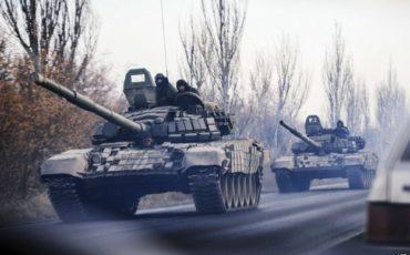 russian tanks enter ukraine