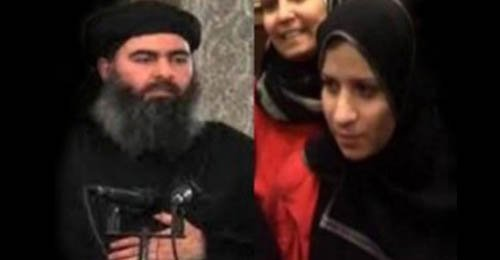 baghdadi and wife