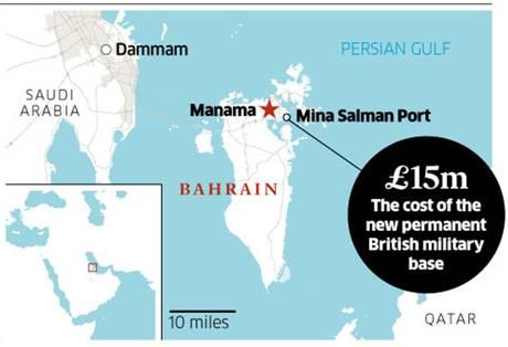 british base in bahrain